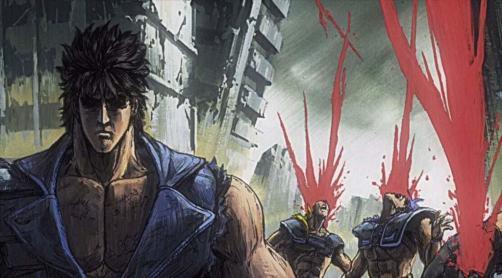 Kenshiro, from Fist of The North Star (Hokuto no Ken)