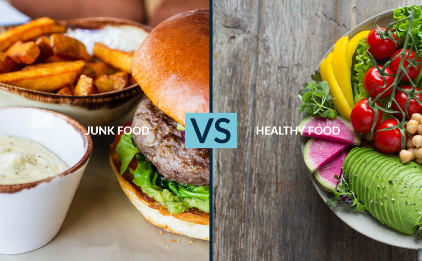 The Effects of Eating Junk Foods on Your Body Vs Nutritious Foods