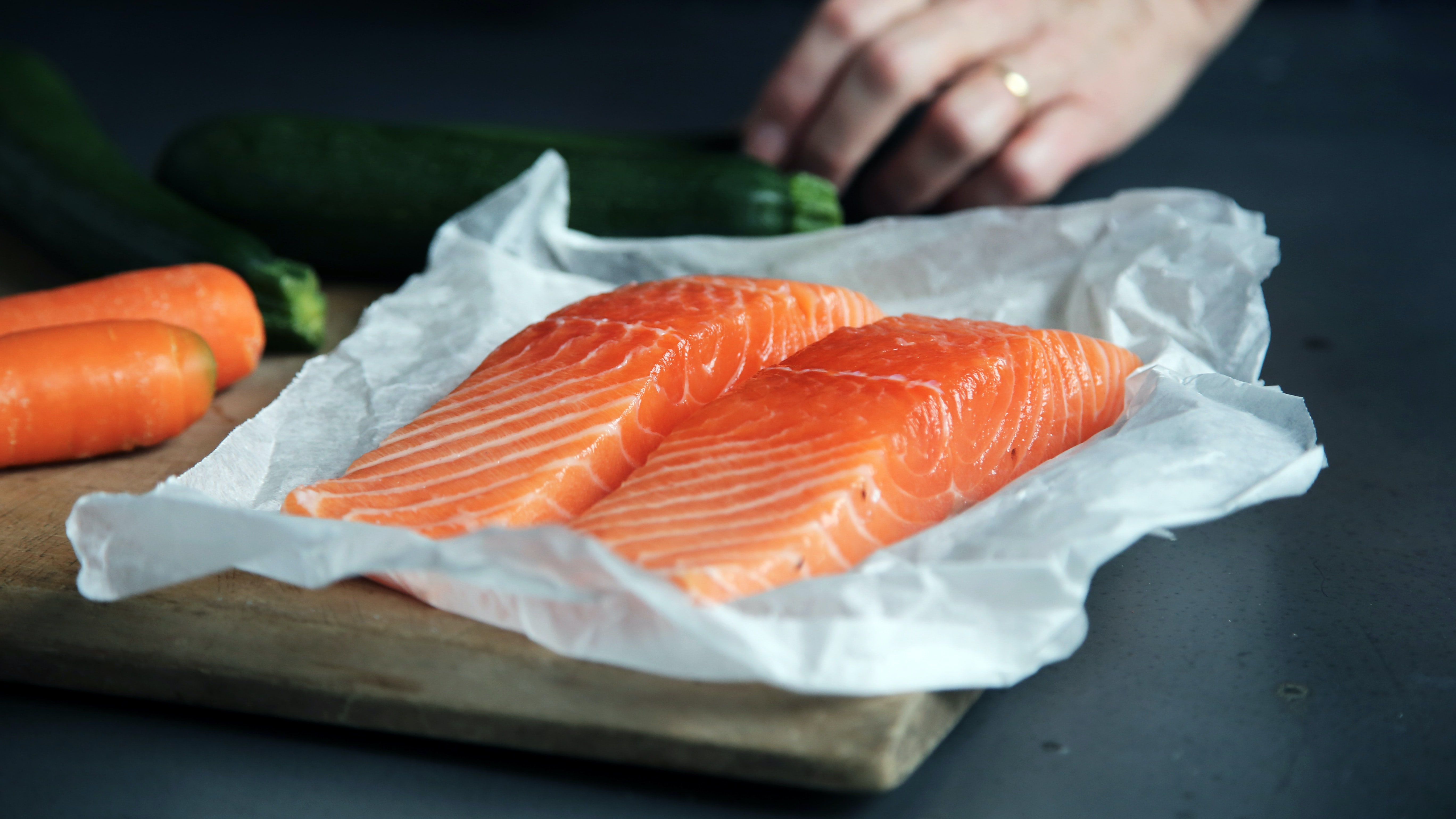 salmon is one of the healthiest high protein foods