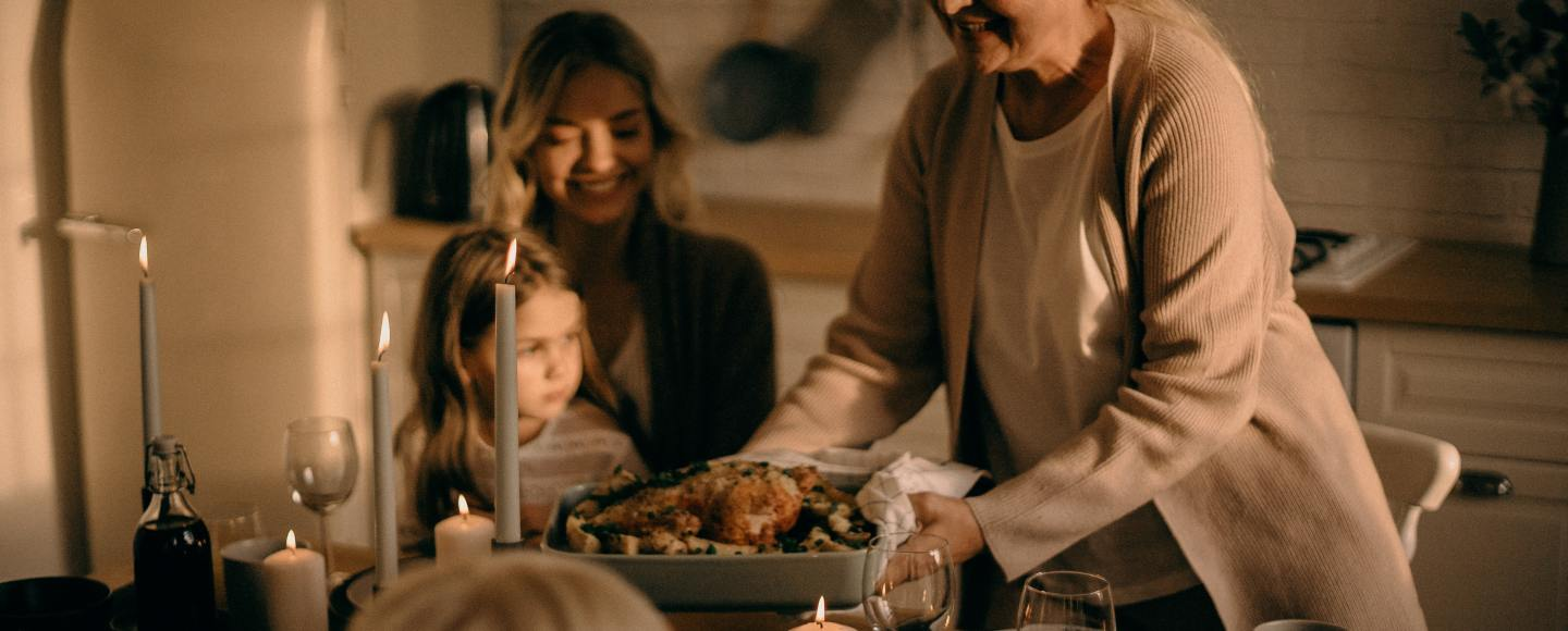 One of the best healthy christmas recipes is this turkey roll
