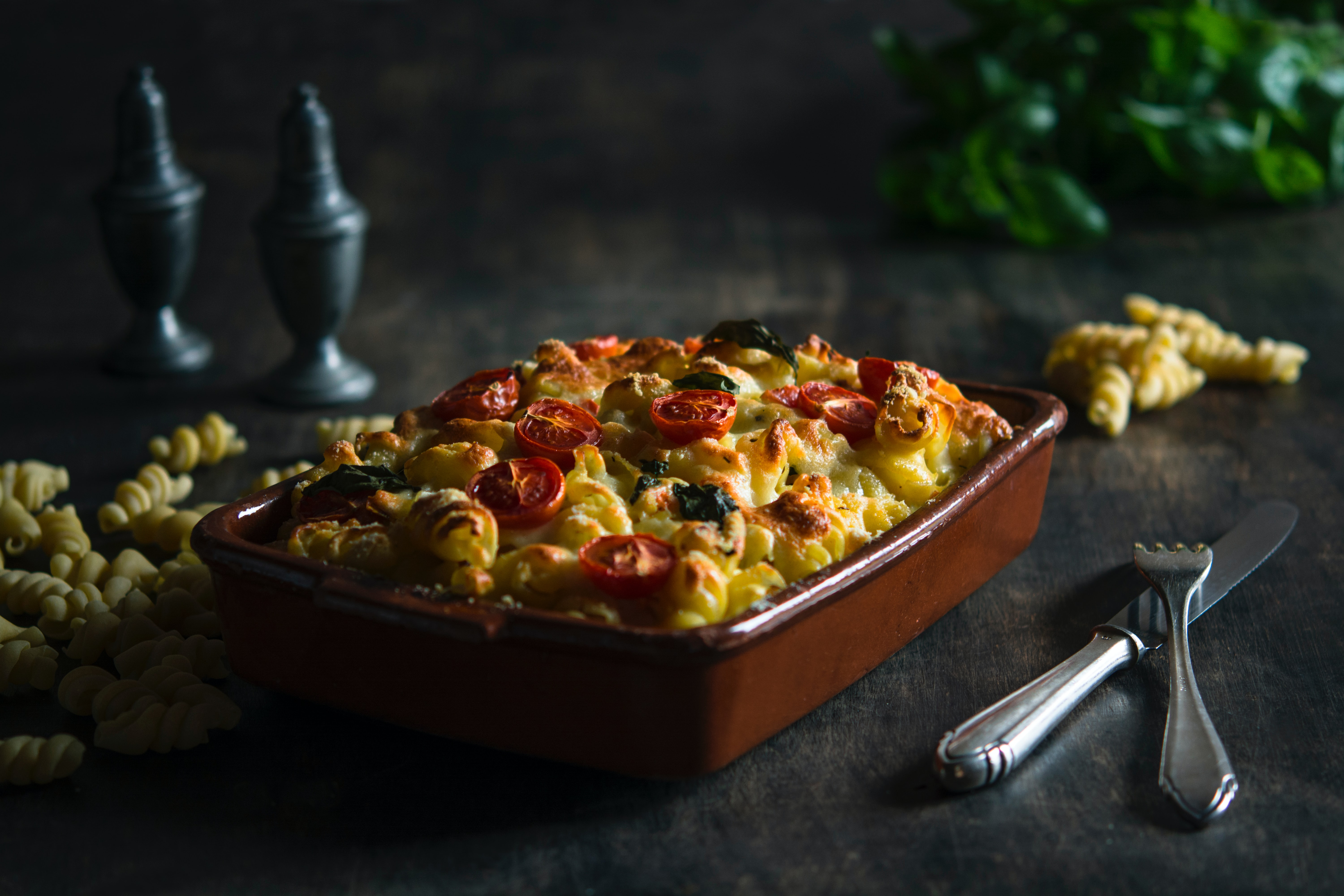 Healthy high protein christmas recipes, yummy baked pasta